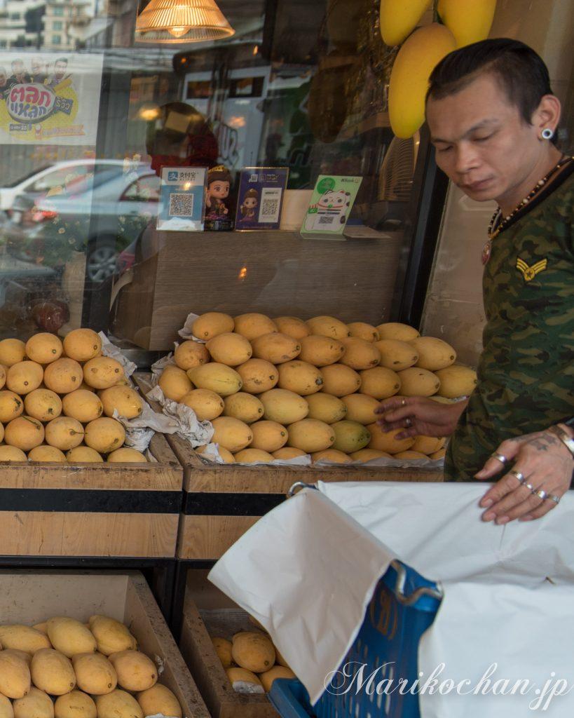 mango in bangkok